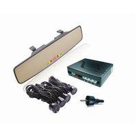 Парктроник AVS PS-164 (4 датчика, Зеркало + LED Дисплей цветной).!