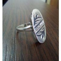Кольцо, перстень Кубачи Ag 916пр, звезда