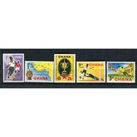 Гана - 1959 - Футбол - [Mi. 63-67] - полная серия - 5 марок. MNH.