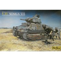 Французский танк Somua S-35 масштаб 1/35