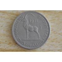 Южная Родезия 2 шиллинга 1951