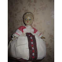 Кукла паричковая на самовар СССР