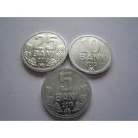 Молдова бани набор из 3 монет