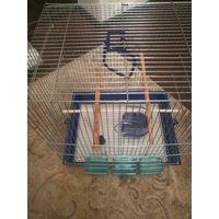 Клетка для попугая // ДШВ 42х32х49 см