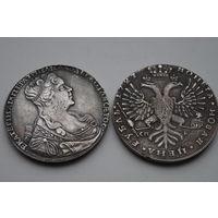 1 рубль 1727.  Красивая копия