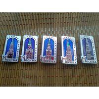 Значки Башни Московского Кремля, много лотов в продаже!!!