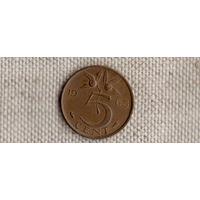 Нидерланды 5 центов 1965(Uss)