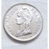 Франция 1 франк, 1992 200 лет Французской Республике 5-8-5