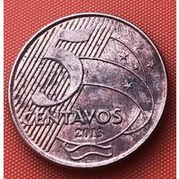 04-08 Бразилия, 5 сентаво 2013 г.