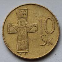 Словакия 10 крон, 1994 г.
