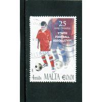 Мальта.Ми-1550.Футбол. 25 лет детской футбольной ассоциации.2007.