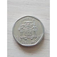 Ямайка 1 доллар 2008г.