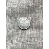 Британская западная (Вест) Индия 1/16 доллара 1822 г. Редкость