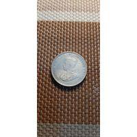 Цейлон 50 центов 1917