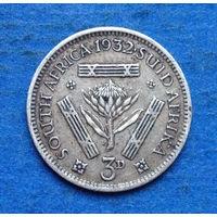 Южная Африка Британский доминион 3 пенса 1932 Георг V