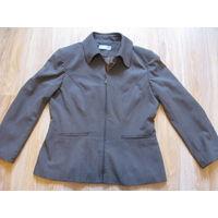 Куртка-пиджак женская''Wallis'' на молнии 52р. Б/у