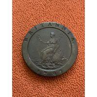 Великобритания 2 пенса 1797 г, колесо (2)