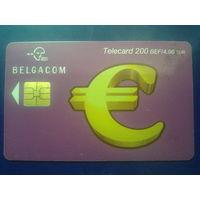 Бельгия переход на евро