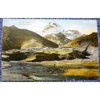 В-Сухумская Дор. Тибердинское озеро и Глухорский ледник