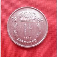 68-24 Люксембург, 1 франк 1986 г.