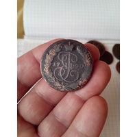 2 копейки 1790 год. ЕМ.