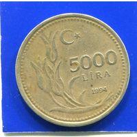 Турция 5000 лир 1994