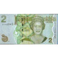 ФИДЖИ  2 $  2007-2012Г.  УНС