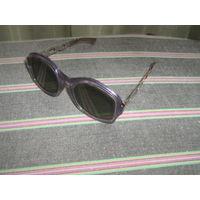 Очки винтажные солнцезащитные