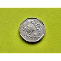Мальта. 5 центов 1991.