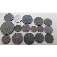 Сборный лот монет.