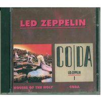 CD Led Zeppelin - Houses Of The Holy / Coda (1996)