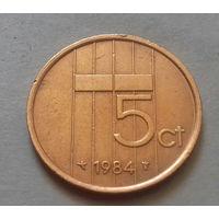 5 центов, Нидерланды 1984 г.