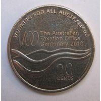 Австралия, 20 центов, 2010