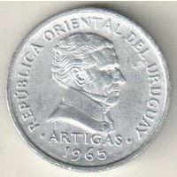 Уругвай 20 сентесимо 1965