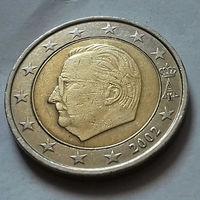 2 евро, Бельгия 2002 г.