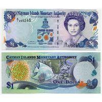 Каймановы острова. 1 доллар (образца 2003 года, P30, UNC)