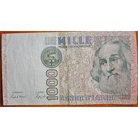 Италия. 1000 лир (образца 1982 года)