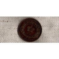 Канада 1 цент 1861/Новый Брунсвик Брунсвиг/(Ah)