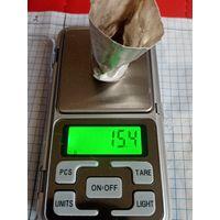 Серебряный стаканчик периода ри в реставрацию или лом