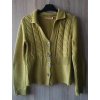 Горчичный свитер от Biba!