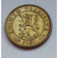 Финляндия 20 марок, 1954 3-2-5