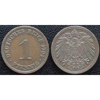 YS: Германия, Рейх, 1 пфенниг 1904A, KM# 10 (2)