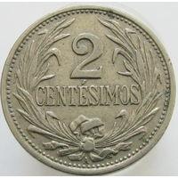 Уругвай 2 сентесимо 1936 (323)