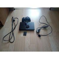 Sony PlayStation2 чипованная + 10 дисков