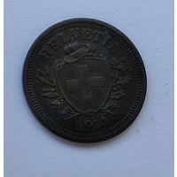 Швейцария 1 раппен, 1914 7-5-20