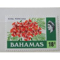 Багамы 1976 г. Флора.