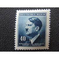 Германия. Рейх. 1942 г. Богемия и Моравия.