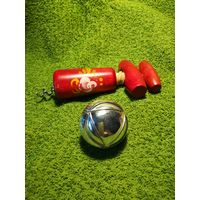 Праздничный набор: штопор и пробка для закупорки шампанского