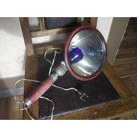 Старая Советская лампа для прогревания.З-д им.Кагановича.