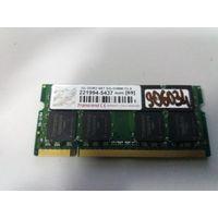 Оперативная память для ноутбука SO-DIMM DDR2 2Gb Transcend PC-5300 (906034)